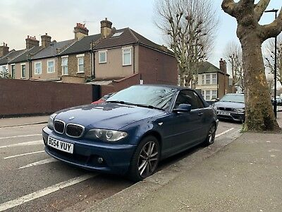 BMW 320CI convertible 2004 (54 plate)