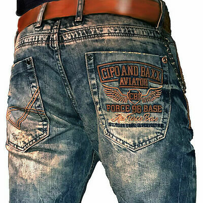 CIPO /& Baxx Crossover Hommes Jeans Denim cd551 toutes les taille NEUF
