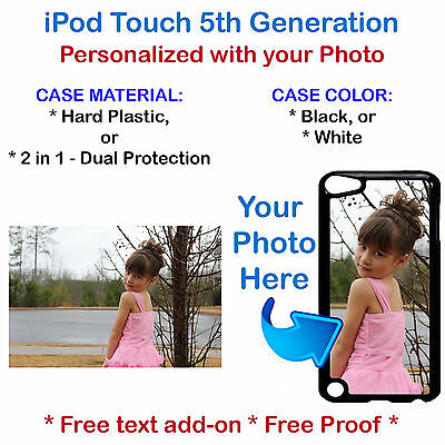 Customized Photo Picture Phone Case Cover For iPod Touch 5th Gen