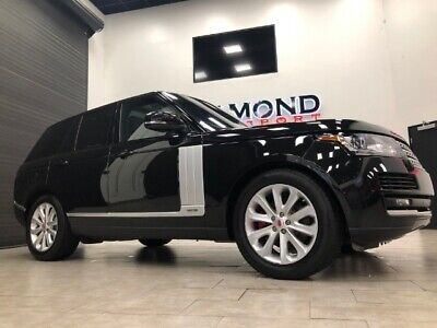 2016 Range Rover HSE Td6 2016 Land Rover Range Rover HSE Td6 Automatic 4-Door SUV