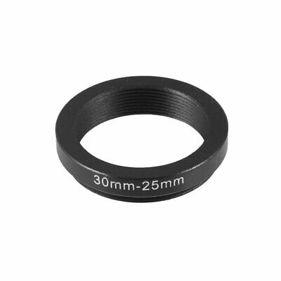 Camera Parts 30mm-25mm Lens Filter Step Down Ring Adapter Black