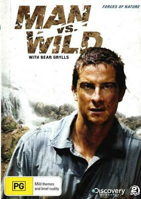 Man vs Wild with Bear Grylls: Season 3 - Forces of Nature   - DVD - NEW Region 4