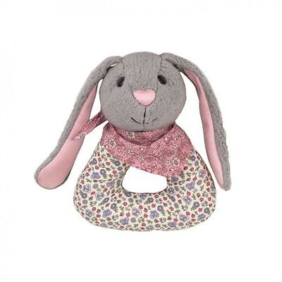 Baby Organic Eco Soft Toy Bunny Rattle