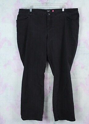 cbc52f43dec Torrid 22R 22 Regular Black Gray Washed Stretch Barely Boot Bootcut Jeans  Plus