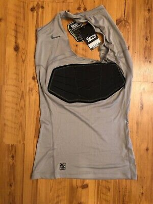 ba112b81c85407 NEW Nike Pro Combat Hyperstrong Compression NBA Basketball Tank Top Gray Sz  XL-T