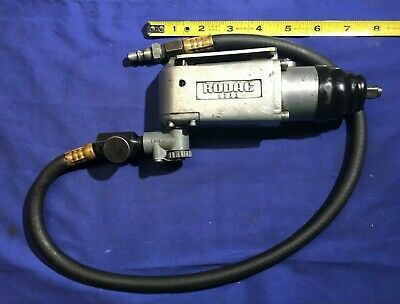 """RODAC 1733 3/8"""" drive Butterfly impact wrench with 2' hose Good Working Cond"""