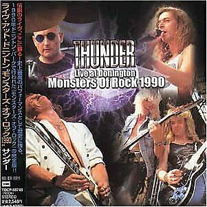 THUNDER Live At Donington (Monsters Of Rock 1990) JAPAN CD TOCP-65745 2001 NEW