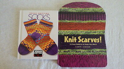 Socks Two Vogue Knitting On The Go Orig Price 12 95 New