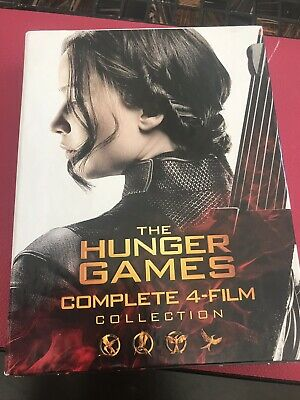 The Hunger Games: Complete 4 Film Collection BLURAY Saga Box Set Mockingjay WOW