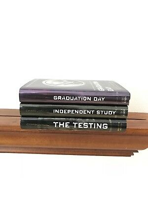Lot of 3 ~ TESTING SERIES ~ Joelle Charbonneau ~ HARDCOVER ~ Excellent Cond