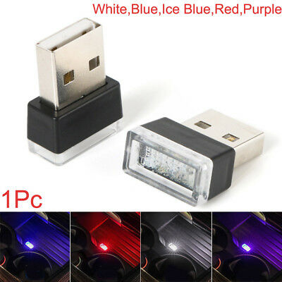 Flexible USB LED Light Colorful Lamp For Car Atmosphere Lamp Bright 2*1.5*0.8cm