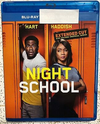 Night School 2018 Blu Ray Only Kevin Hart