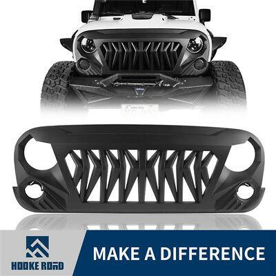 Hooke Road ABS Gladiator 2nd Gen Replacement Grille For Jeep Wrangler JK 07-18
