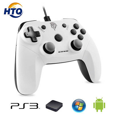 EasySMX Wired Game Controller Gamepad for PC PS3 Android Mobile Phones TV Box