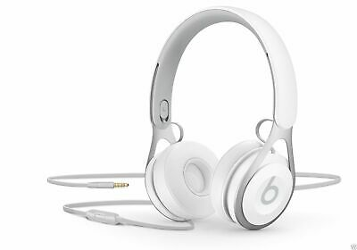 NEW Beats by Dr. Dre EP On-Ear Wired Headband Headphones - White