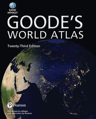 Goode's World Atlas by Rand McNally (2016, Paperback)