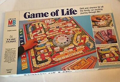 Vintage 1977 Game Of Life Board Game Milton Bradley C4000