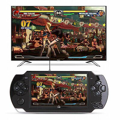 4.3'' Portable 8GB Handheld PSP Game Console Player Built-in 10000 Games+Camera
