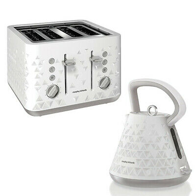 Kettle and Toaster Set White  108110 Morphy Richards Cheap Sale Buy Kitchen