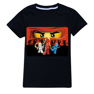 Ninjago Black Kid's T Shirt  AU Shop