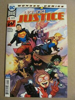 Young Justice #1 DC Universe 2019 Series Brian Michael Bendis 9.6 Near Mint+