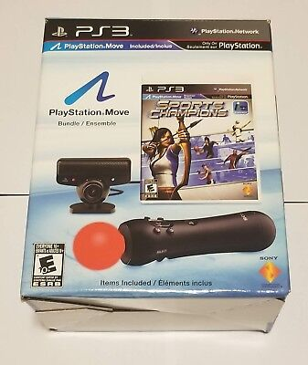 Sony Playstation Move Motion Controller BUNDLE PS3 / PS4 - open box