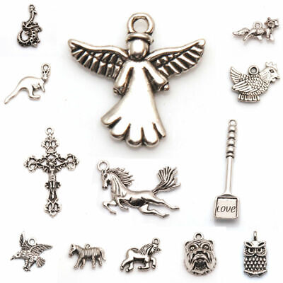 God fit Findings Plated Silver hat Jewelry Silver Tibetan Necklace Pendant Charm
