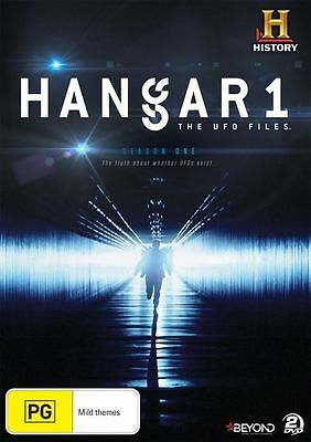 Hangar 1 The UFO Files Season 1 DVD 2015 2-Disc Set Brand New Sealed