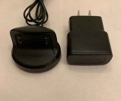 Genuine OEM SAMSUNG Gear Fit 2 II Charging Dock Charger EP-YB360 And Plug