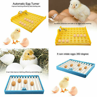 Automatic Digital 56 Egg Turning Incubator Tray Chicken Hatcher Temperature