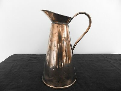 Vintage/Antique Solid Copper Jug by Joseph Sankey - 4 pints
