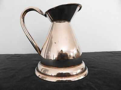 Vintage/Antique solid copper haystack Jug