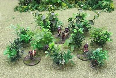 JUNGLE PLANT PACK 1- Jungle/Asian/African/Mesoamerican Plants  - 28/25/20mm