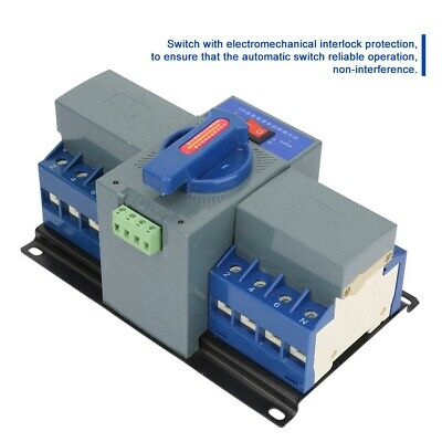 Dual Power Automatic Transfer Switch Automatisch Transferschalter 4P 4-Polig 63A