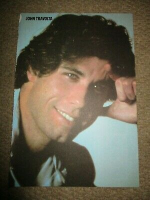 Vintage UK John Travolta Poster Clippings