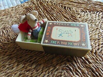 St Louis Matchbox Mouse With Bed And Box Chicoree Williot Rare