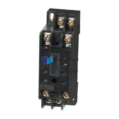 DYF08A 8Pins DIN Rail Mount Power Relay Holder Socket Base for HH52P MY2