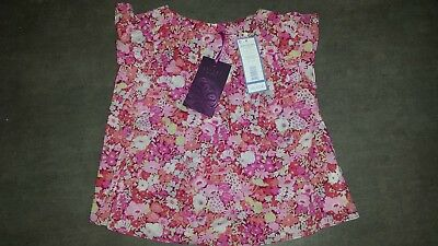 Sublime blouse blouse top LIBERTY baby girl 18 months NEW new for gift