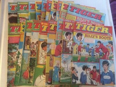 Tiger Comics x19 From 1983 Billys Boots