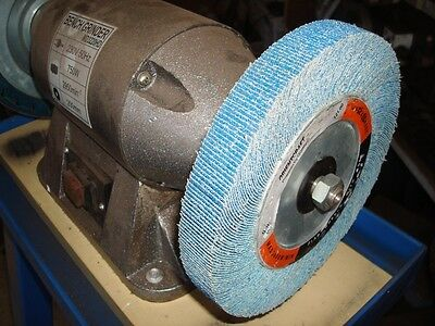 Flap wheels for bench grinder 180mm x 25mm , ZA material