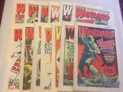 Warlord Comics x13 From 1976/77  #109-121