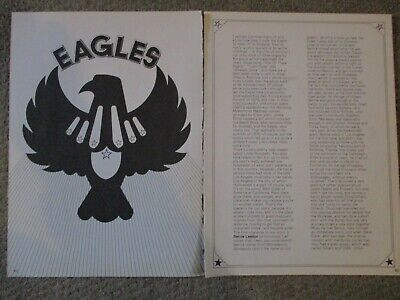 Vintage Eagles Clipping Don Henley Randy Meisner Glenn Frey Joe Walsh Don Felder