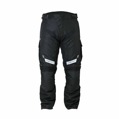 RST 1889 Rallye Men's Textile Adventure Motorcycle Jeans Trousers - Black