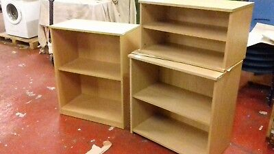 3 office deepset shelves