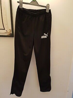 Boys puma tracksuit bottoms Age 11-12