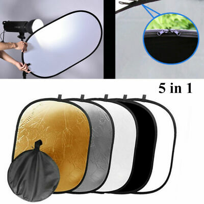5 in 1 Portable Collapsible Light Photography/Photo Reflector Diffuser fr Studio