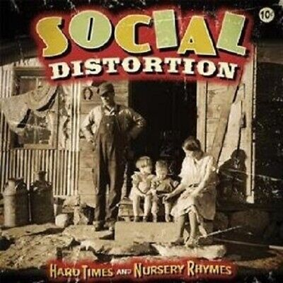 "Social Distortion ""Hard Times And Nursery Rhymes""Cd New"