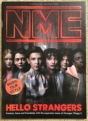 NME magazine - Stranger Things 2 – 27 October 2017
