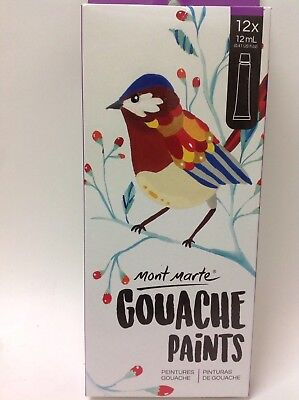 Gouache paints - 12 pce