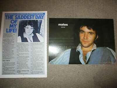 Vintage UK David Essex Posters Clippings